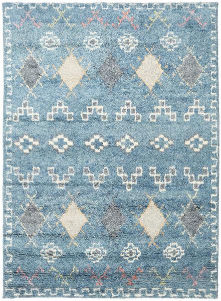 Zaurac - 青 グレー 絨毯 170X240 モダン 手織り 水色/ベージュ (ウール, インド)