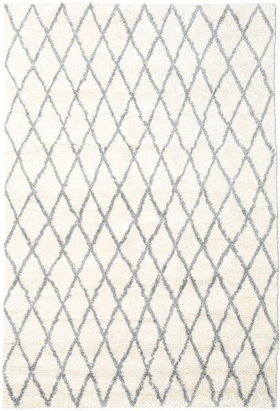 Queens - グレー - Comb. 絨毯 200X300 モダン ベージュ/薄い灰色 (ウール, インド)