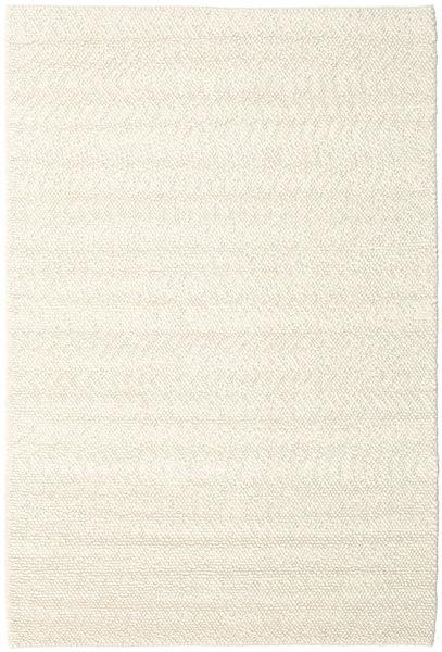 Bubbles - ナチュラル 白 絨毯 300X400 モダン ベージュ 大きな (ウール, インド)