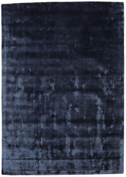 Brooklyn - ミッドナイトブルー色 絨毯 140X200 モダン 紺色の/青 ( インド)