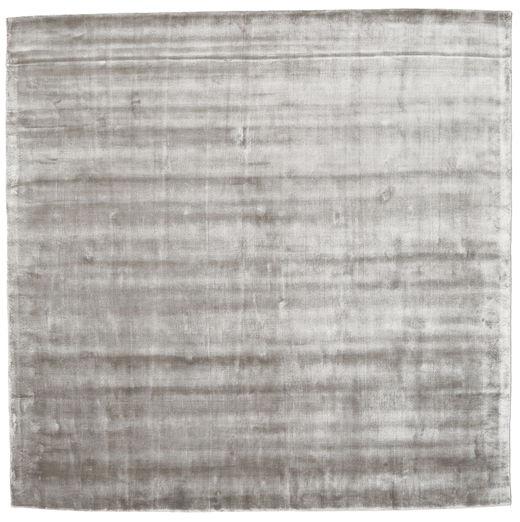 Broadway - ソフトグレー 絨毯 250X250 モダン 正方形 薄い灰色 大きな ( インド)