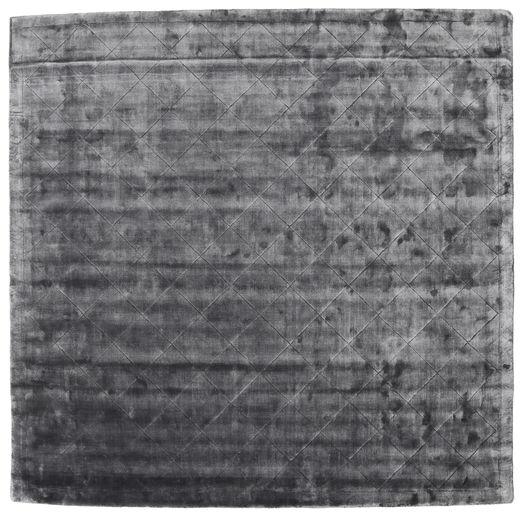 Brooklyn - ストーミーグレー 絨毯 250X250 モダン 正方形 濃いグレー/薄い灰色 大きな ( インド)