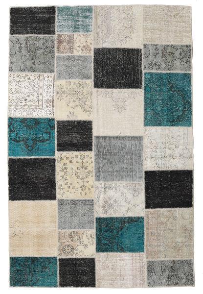 パッチワーク 絨毯 197X301 モダン 手織り 薄い灰色/濃いグレー (ウール, トルコ)