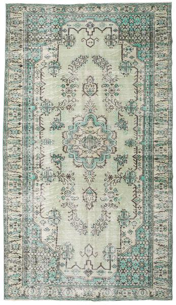 カラード ヴィンテージ 絨毯 187X330 モダン 手織り 薄い灰色/ベージュ (ウール, トルコ)