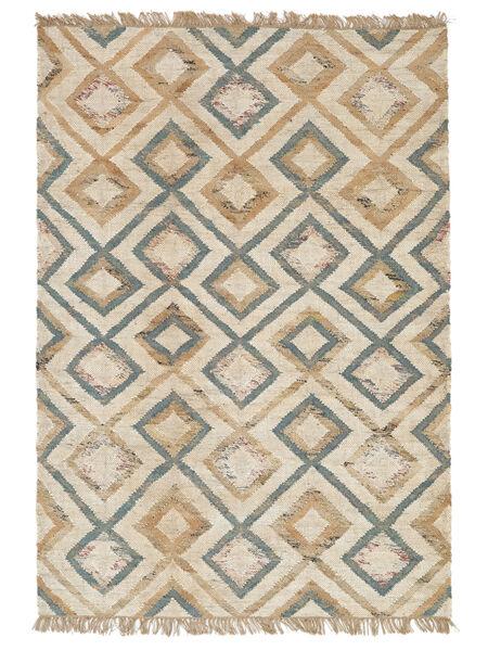 屋外カーペット Patagonia Jute 絨毯 170X240 モダン 手織り 薄い灰色/ベージュ ( インド)