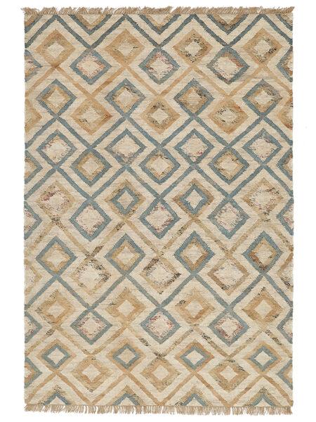 屋外カーペット Patagonia Jute 絨毯 200X300 モダン 手織り 薄い灰色/ベージュ ( インド)