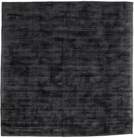 Tribeca - チャコール 絨毯 250X250 モダン 正方形 濃いグレー 大きな ( インド)