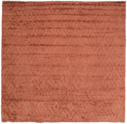 Soho Soft - Terracotta 絨毯 250X250 モダン 正方形 赤 大きな (ウール, インド)