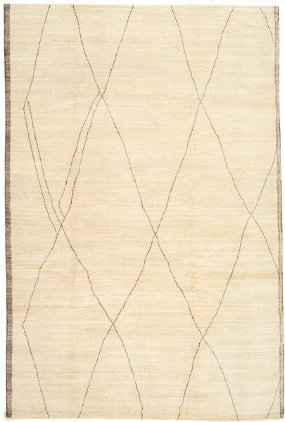 アフガン Exclusive 絨毯 200X300 モダン 手織り ベージュ (ウール, アフガニスタン)