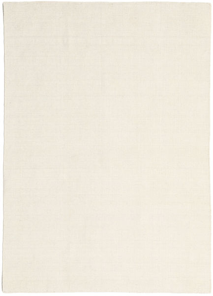 キリム ルーム - ナチュラル 絨毯 160X230 モダン 手織り 暗めのベージュ色の/ベージュ (ウール, インド)