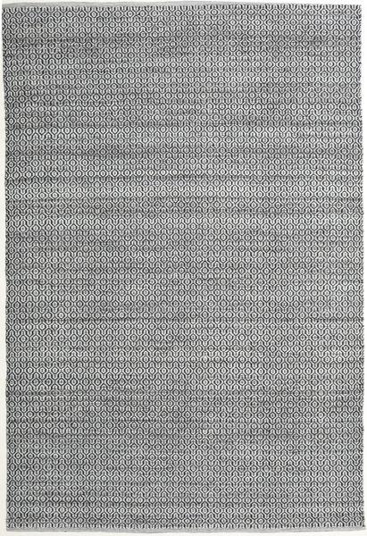 Alva - グレー/黒 絨毯 200X300 モダン 手織り 薄い灰色/ライトグリーン (ウール, インド)