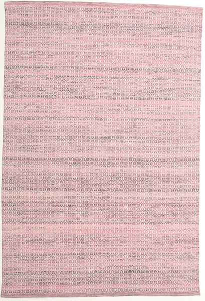 Alva - ピンク/白 絨毯 160X230 モダン 手織り ライトピンク/薄紫色 (ウール, インド)