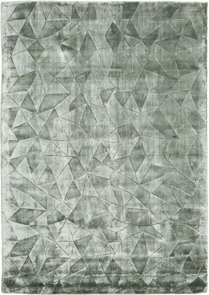 Crystal - Frosty Green 絨毯 140X200 モダン ライトグリーン/深緑色の ( インド)