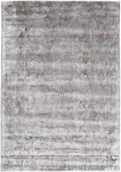 Crystal - ソフトグレー 絨毯 160X230 モダン 薄い灰色/濃いグレー ( インド)