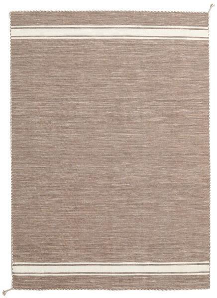 Ernst - 薄茶色/オフホワイト 絨毯 170X240 モダン 手織り 薄い灰色/薄茶色 (ウール, インド)
