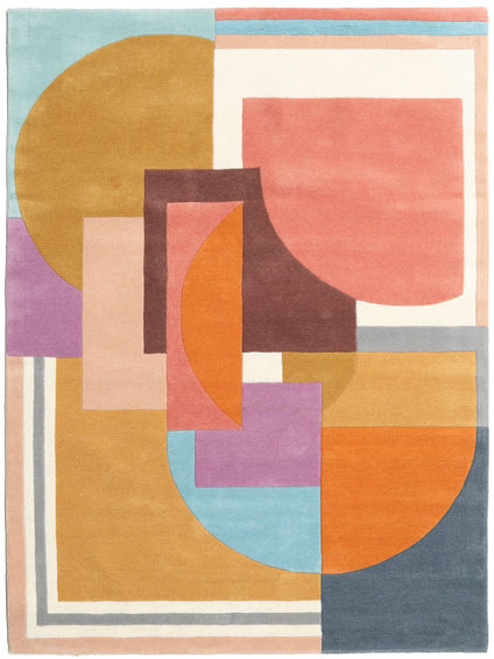 Arty - Multi 絨毯 160X230 モダン オレンジ/暗めのベージュ色の (ウール, インド)