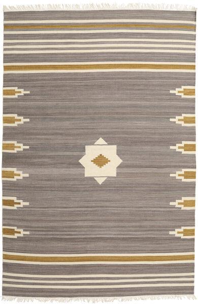 Tribal - グレー 絨毯 200X300 モダン 手織り 薄い灰色/ベージュ (ウール, インド)