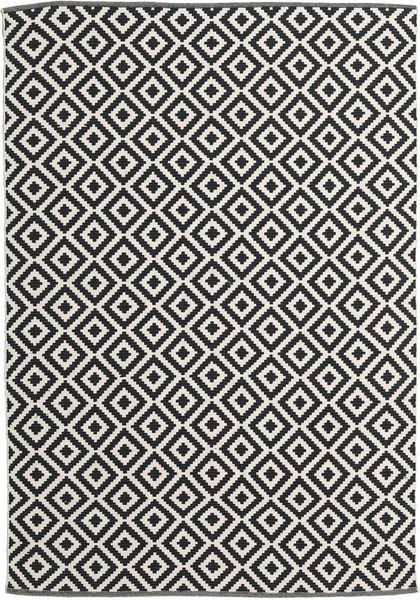 Torun - 黒/Neutral 絨毯 170X240 モダン 手織り 黒/暗めのベージュ色の (綿, インド)