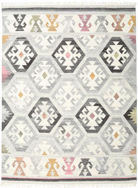 Mayor - グレー 絨毯 160X230 モダン 手織り 薄い灰色/ベージュ (ウール, インド)