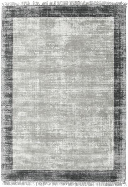 Luxus - グレー/濃いグレー 絨毯 170X240 モダン 薄い灰色/ターコイズブルー ( インド)