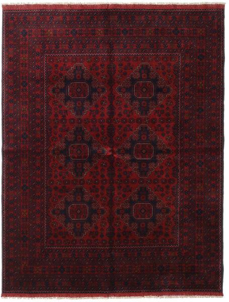 アフガン Khal Mohammadi 絨毯 166X227 オリエンタル 手織り 深紅色の (ウール, アフガニスタン)