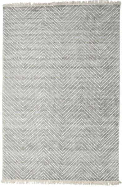 Vanice - 薄い灰色 絨毯 140X200 モダン 手織り 薄い灰色 ( インド)