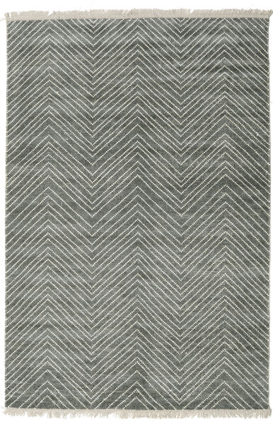 Vanice - グレー グリーン 絨毯 200X300 モダン 手織り 薄い灰色/濃いグレー ( インド)