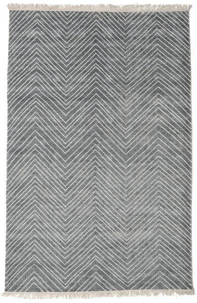 Vanice - グレー 絨毯 160X230 モダン 手織り 薄い灰色/青 ( インド)