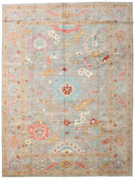 アフガン Exclusive 絨毯 267X358 モダン 手織り 薄い灰色/ベージュ 大きな (ウール, アフガニスタン)
