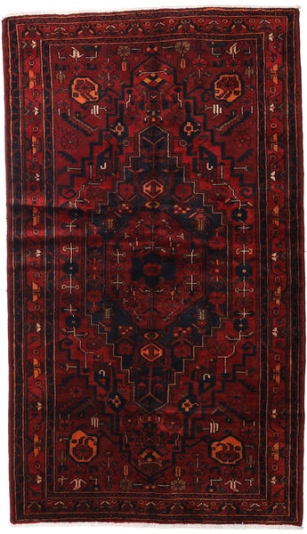 ハマダン 絨毯 143X248 オリエンタル 手織り 深紅色の (ウール, ペルシャ/イラン)