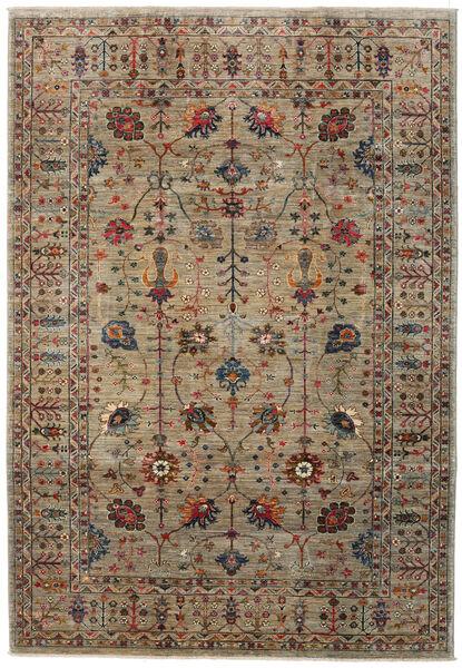 Mirage 絨毯 209X303 モダン 手織り 薄茶色/濃いグレー (ウール, アフガニスタン)