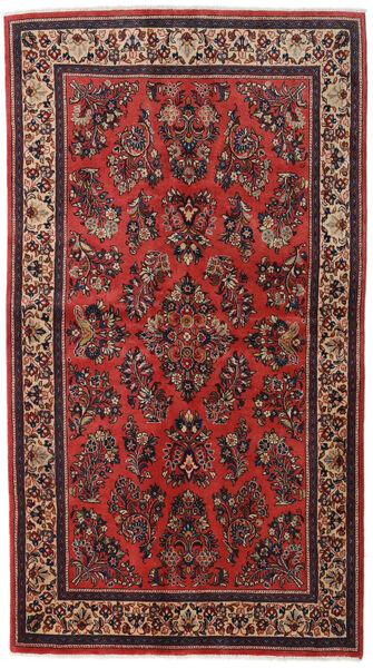 サルーク Sherkat Farsh 絨毯 130X232 オリエンタル 手織り 深紅色の/錆色 (ウール, ペルシャ/イラン)