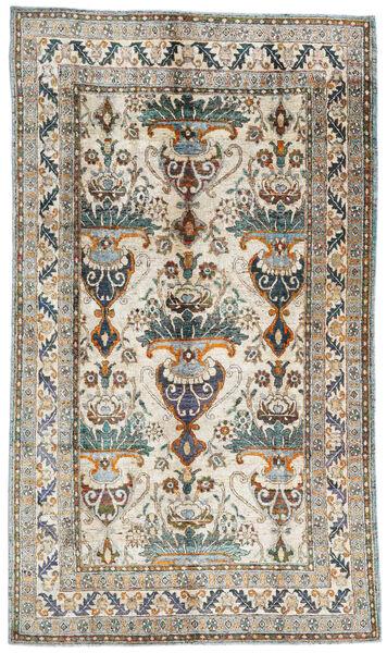 Sari ピュア シルク 絨毯 199X345 モダン 手織り 薄い灰色/濃いグレー (絹, インド)