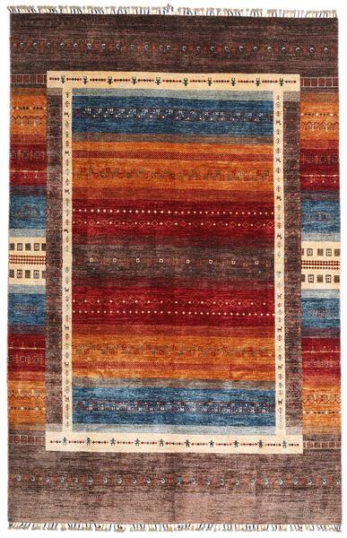 モダン アフガン 絨毯 198X305 モダン 手織り 深紅色の/濃い茶色 (ウール, アフガニスタン)