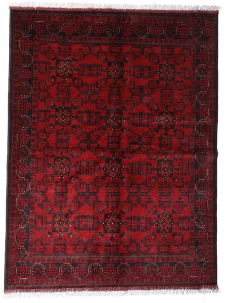 アフガン Khal Mohammadi 絨毯 172X225 オリエンタル 手織り 深紅色の/濃い茶色 (ウール, アフガニスタン)