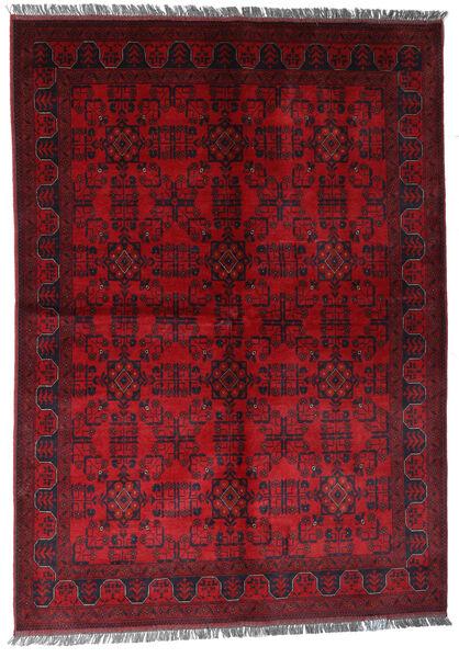 アフガン Khal Mohammadi 絨毯 170X240 オリエンタル 手織り 深紅色の/赤 (ウール, アフガニスタン)