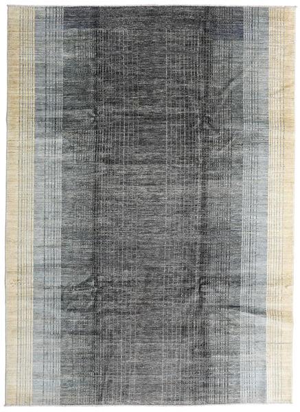 Battuta 絨毯 214X296 モダン 手織り 濃いグレー/薄い灰色 (ウール, アフガニスタン)