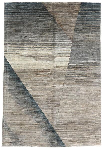 Battuta 絨毯 167X248 モダン 手織り 薄い灰色/濃いグレー (ウール, アフガニスタン)