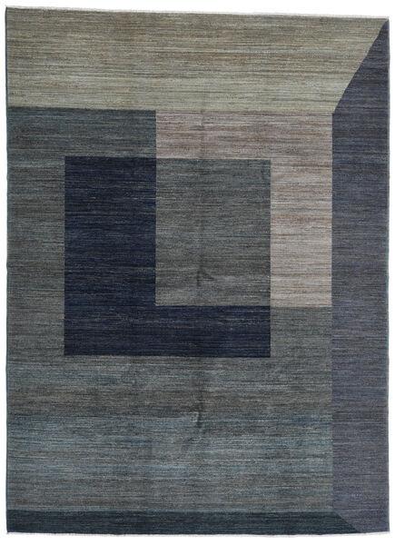 Battuta 絨毯 220X300 モダン 手織り 濃いグレー/紺色の (ウール, アフガニスタン)