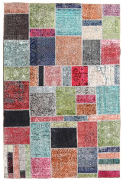 パッチワーク - Persien/Iran 絨毯 199X300 モダン 手織り ライトグリーン/深紅色の (ウール, ペルシャ/イラン)