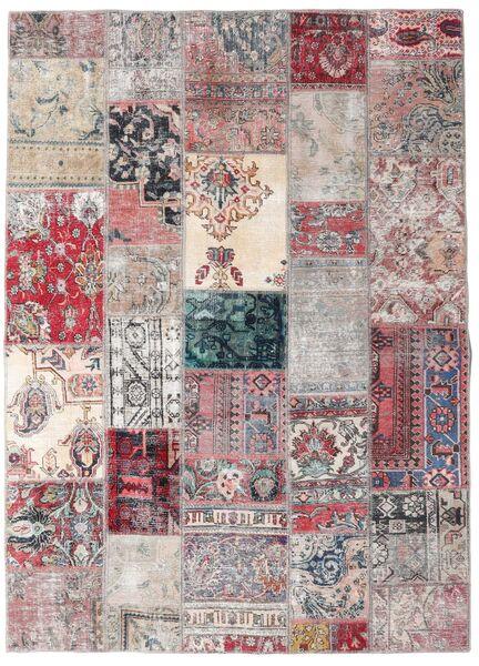 パッチワーク - Persien/Iran 絨毯 173X242 モダン 手織り 薄い灰色/薄紫色 (ウール, ペルシャ/イラン)