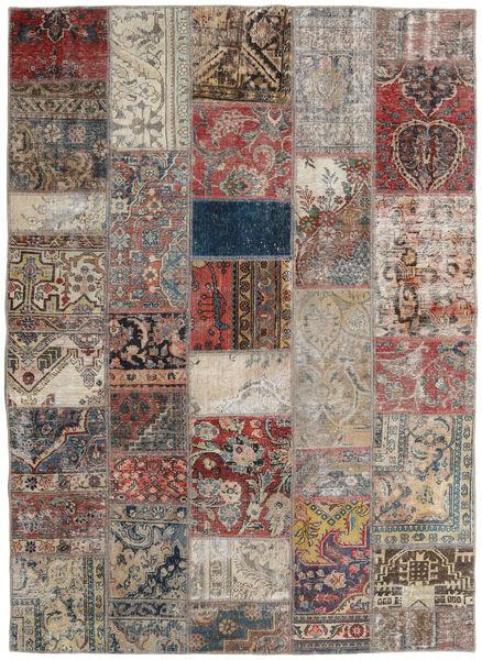パッチワーク - Persien/Iran 絨毯 172X240 モダン 手織り 薄い灰色/薄茶色 (ウール, ペルシャ/イラン)