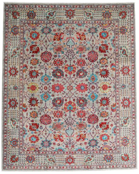Mirage 絨毯 243X300 モダン 手織り 薄い灰色/深紅色の (ウール, アフガニスタン)