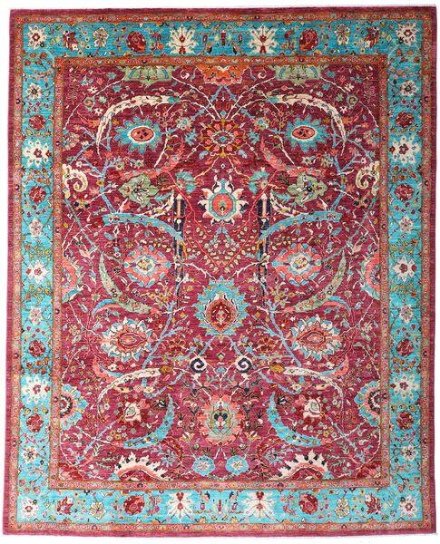 Mirage 絨毯 243X300 モダン 手織り 深紅色の/茶 (ウール, アフガニスタン)