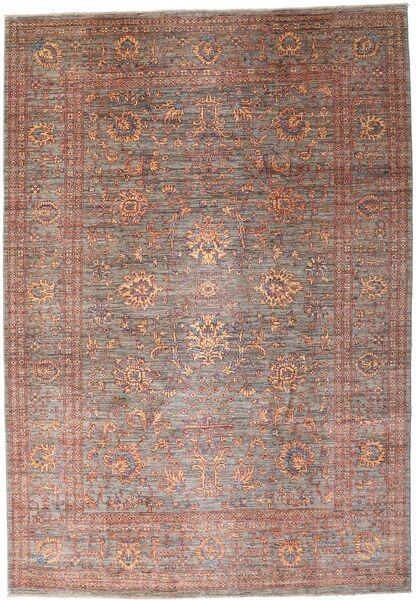 Mirage 絨毯 210X301 モダン 手織り 深紅色の/薄茶色 (ウール, アフガニスタン)