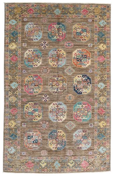 Mirage 絨毯 164X259 モダン 手織り 薄い灰色/茶 (ウール, アフガニスタン)