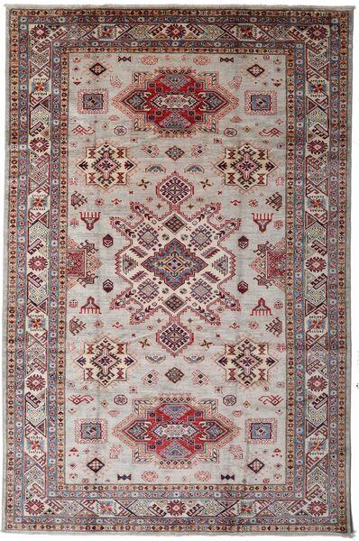 Mirage 絨毯 196X299 モダン 手織り 濃い茶色/薄い灰色 (ウール, アフガニスタン)