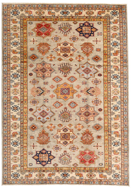 Mirage 絨毯 208X296 モダン 手織り 茶/ベージュ (ウール, アフガニスタン)