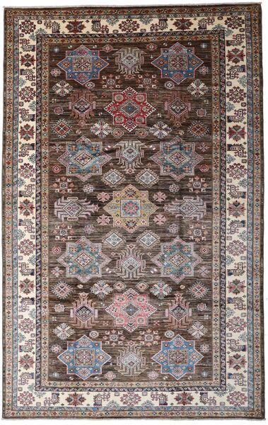 Mirage 絨毯 198X313 モダン 手織り 濃い茶色/薄茶色 (ウール, アフガニスタン)