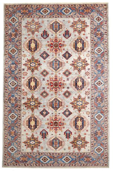 Mirage 絨毯 208X320 モダン 手織り 薄い灰色/濃いグレー (ウール, アフガニスタン)